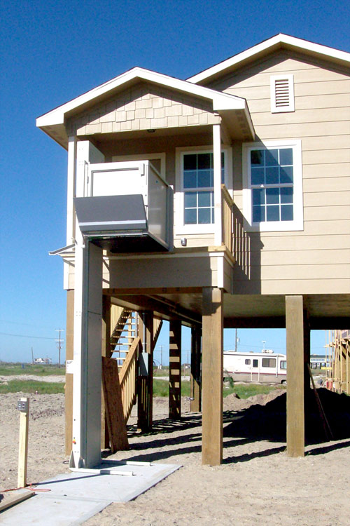 Houston home elevators residential elevator stair lifts for Beach house lifts